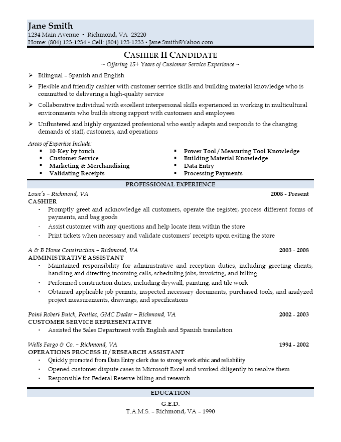 free perfect resumes